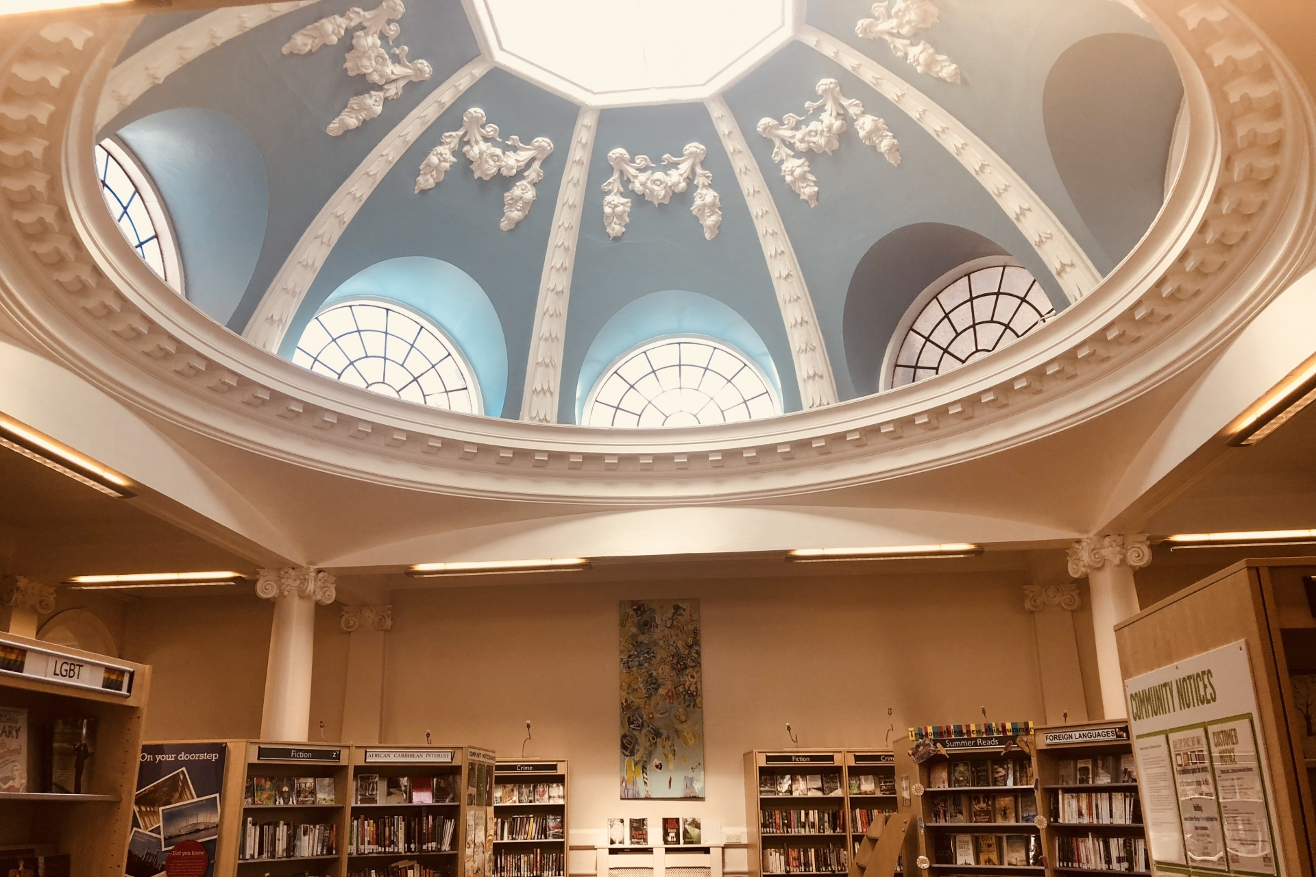 LoveReading Library of the Month #1: West Greenwich Library