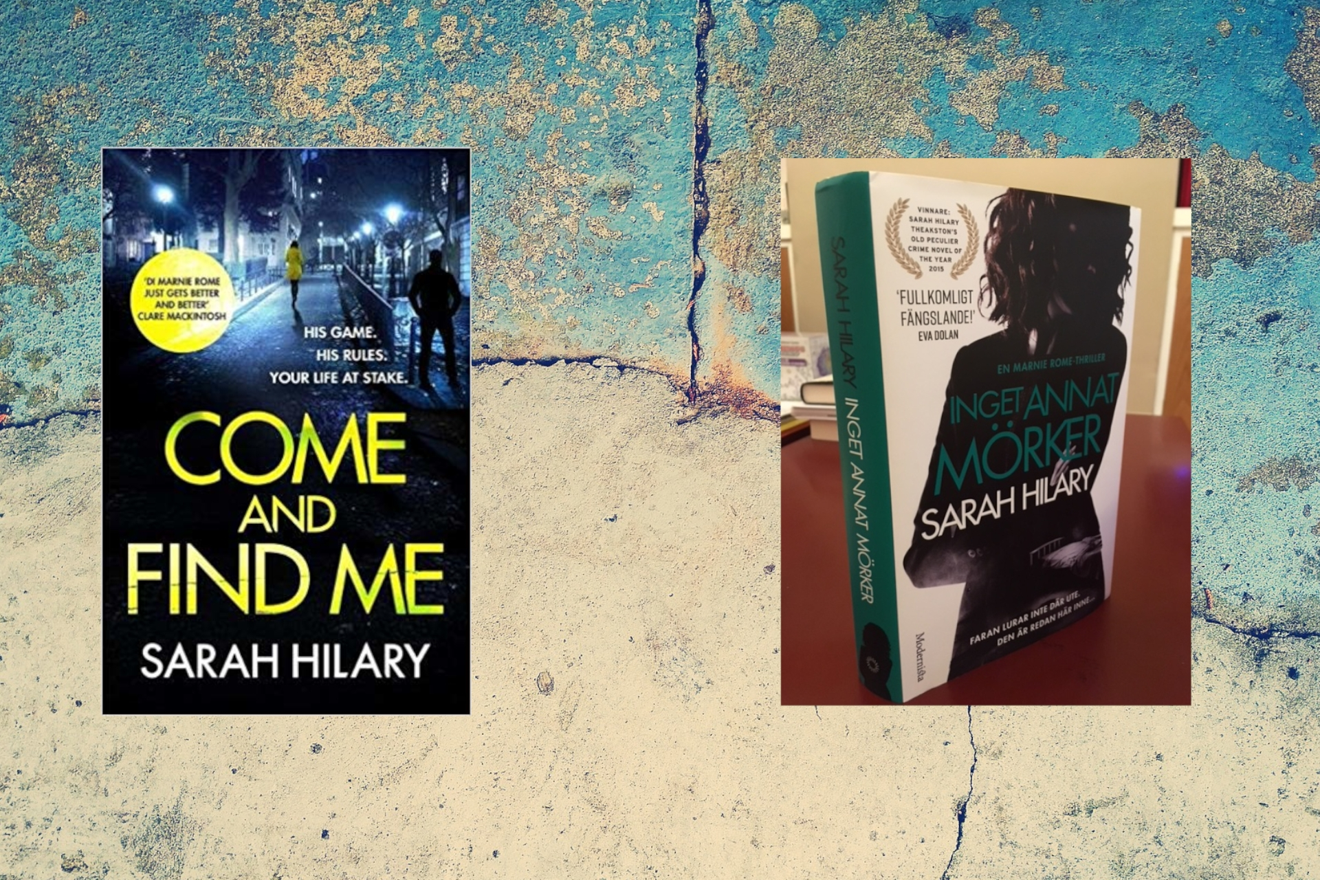 Putting Authors in the Picture #2: Sarah Hilary