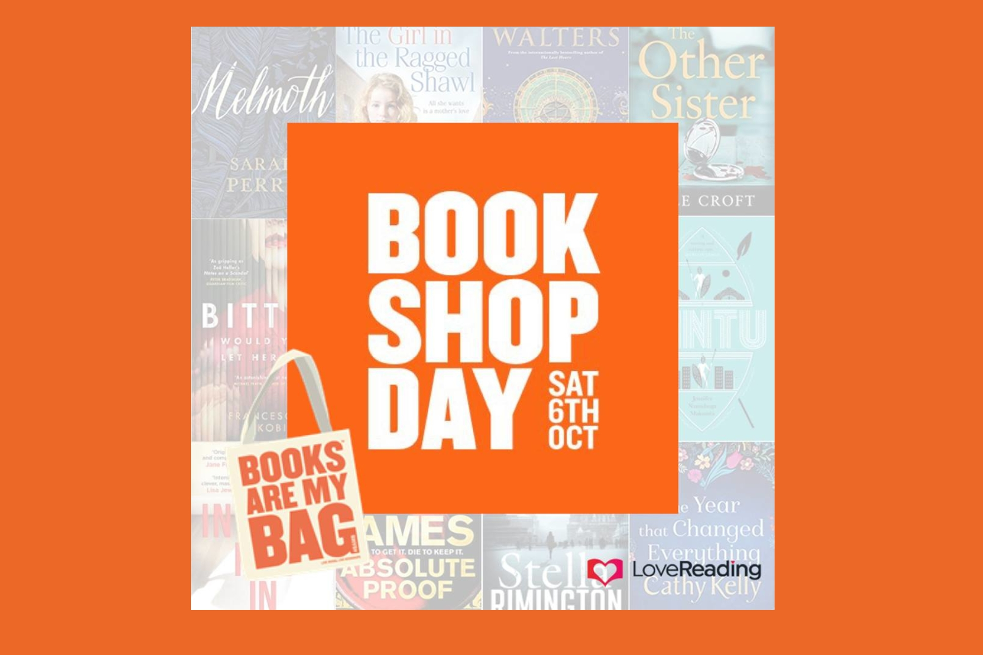 Books Are My Bag: Bookshop Day!