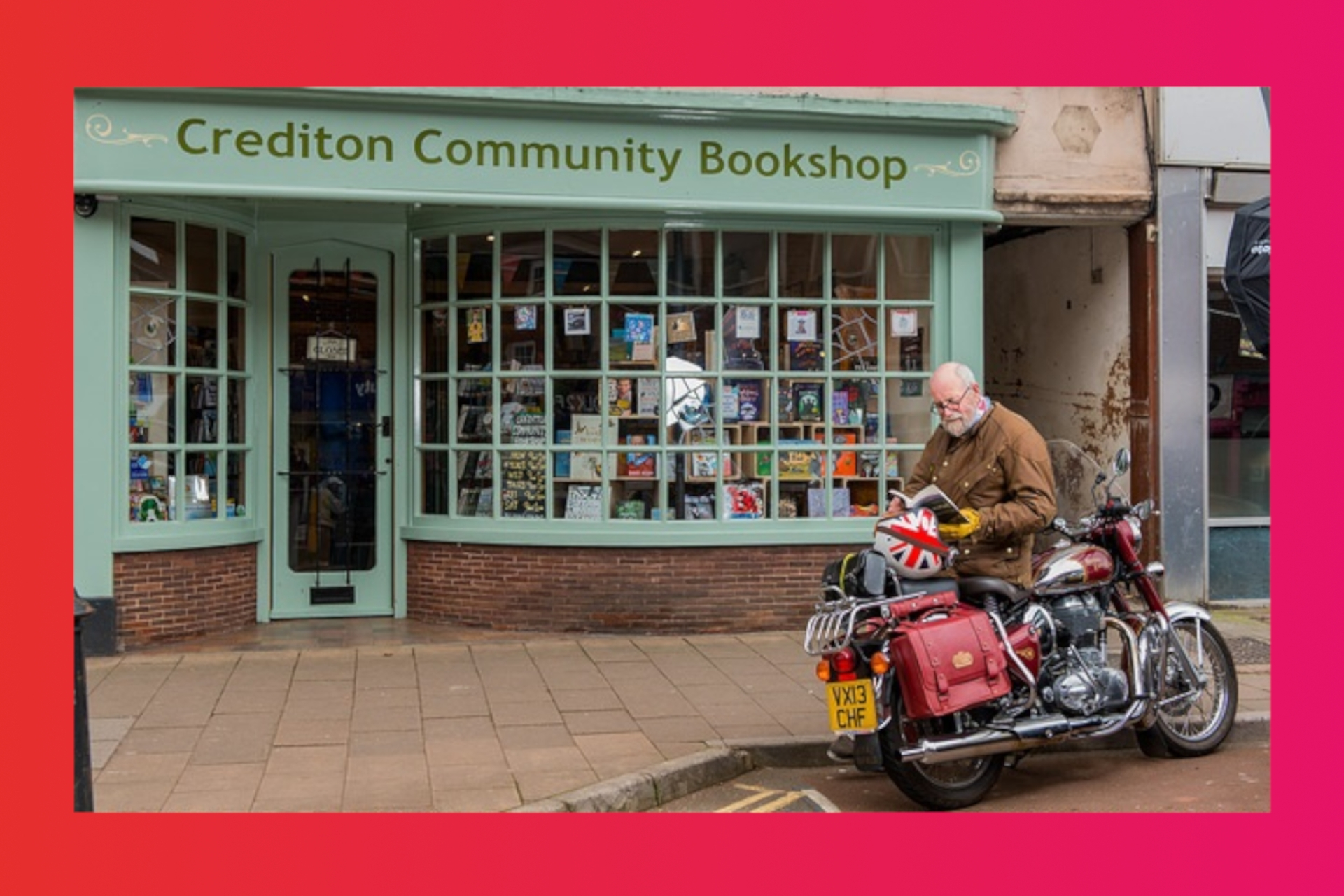 LoveReading Bookshop of the Month: Crediton Community Bookshop