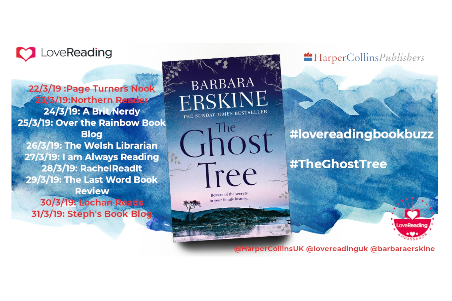 Ambassador Book Buzz: The Ghost Tree