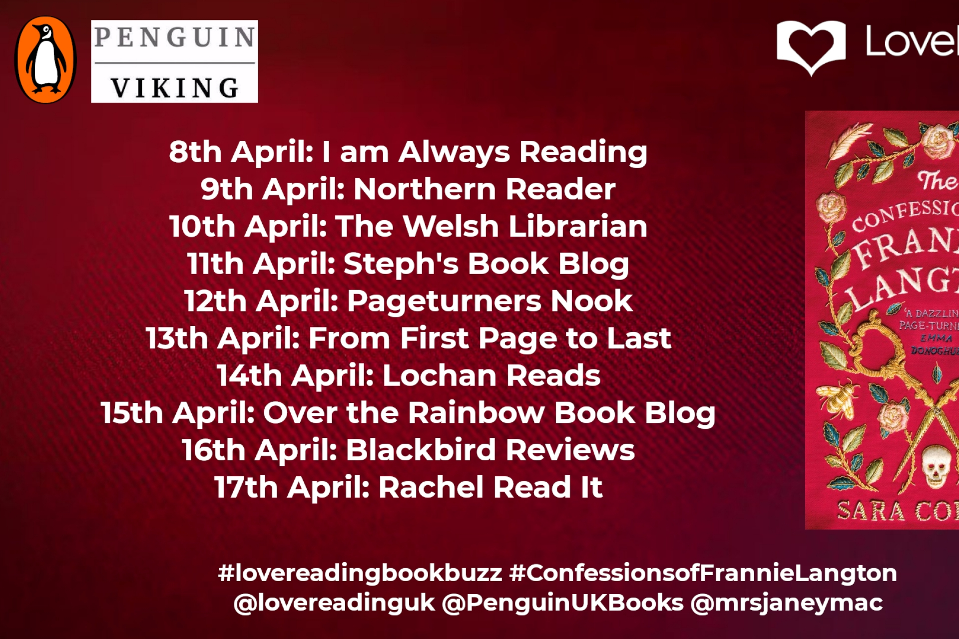 Ambassador Book Buzz: The Confessions of Frannie Langton