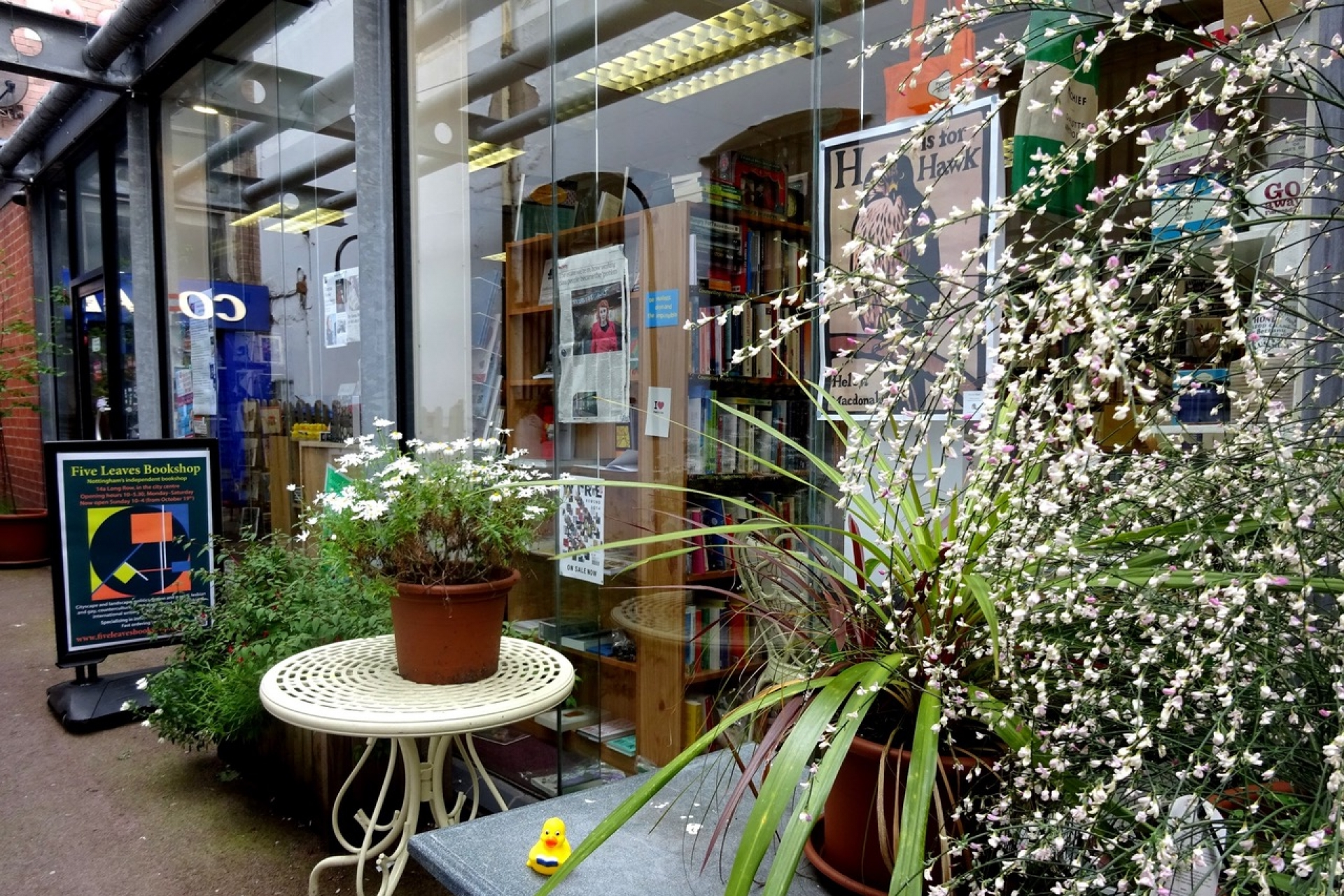 LoveReading Bookshop of the Month: Five Leaves