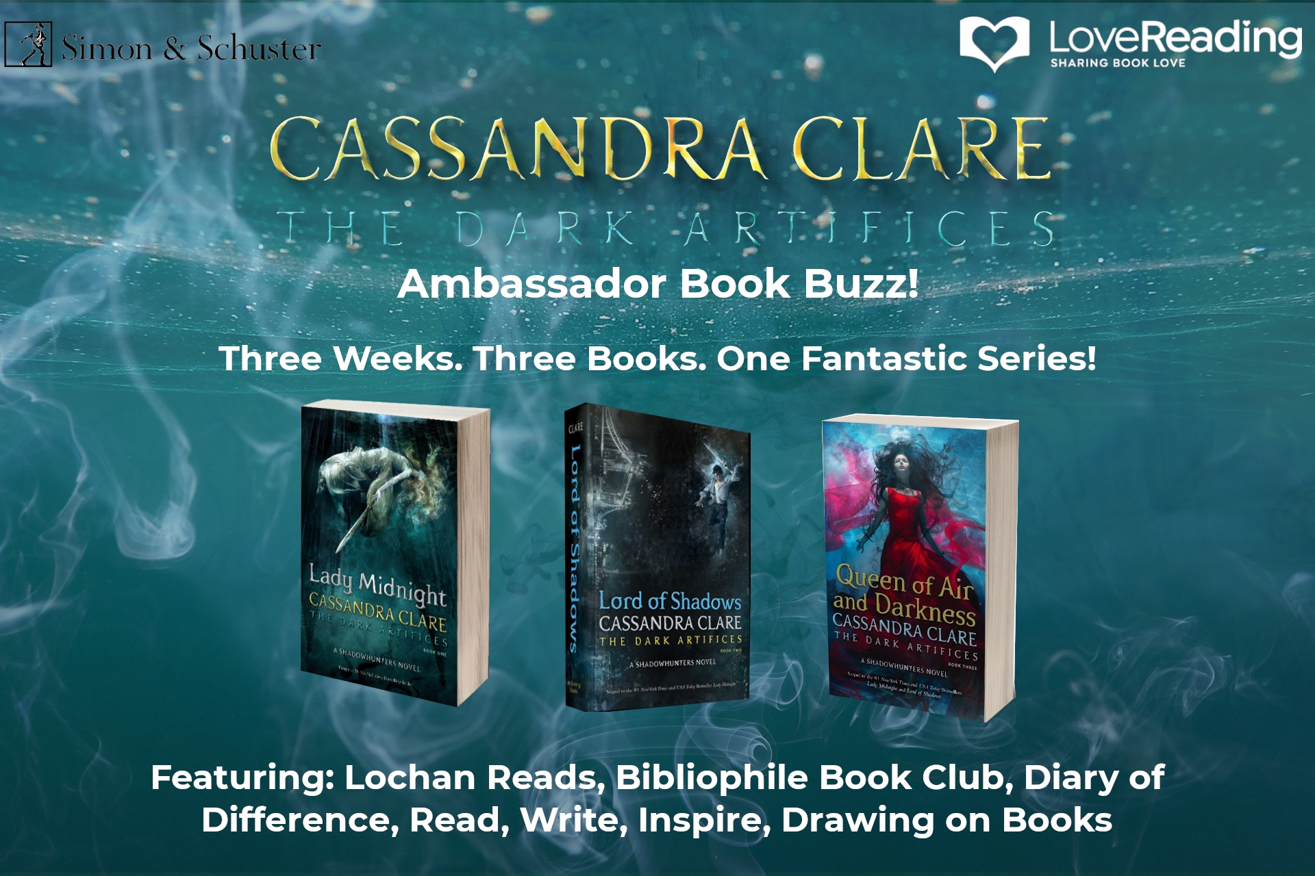 Ambassador Book Buzz: The Dark Artifices by Cassandra Clare