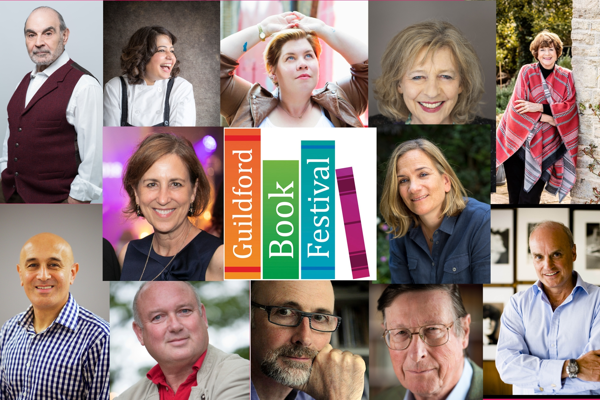 Line-up Announced for the Guildford Book Festival!
