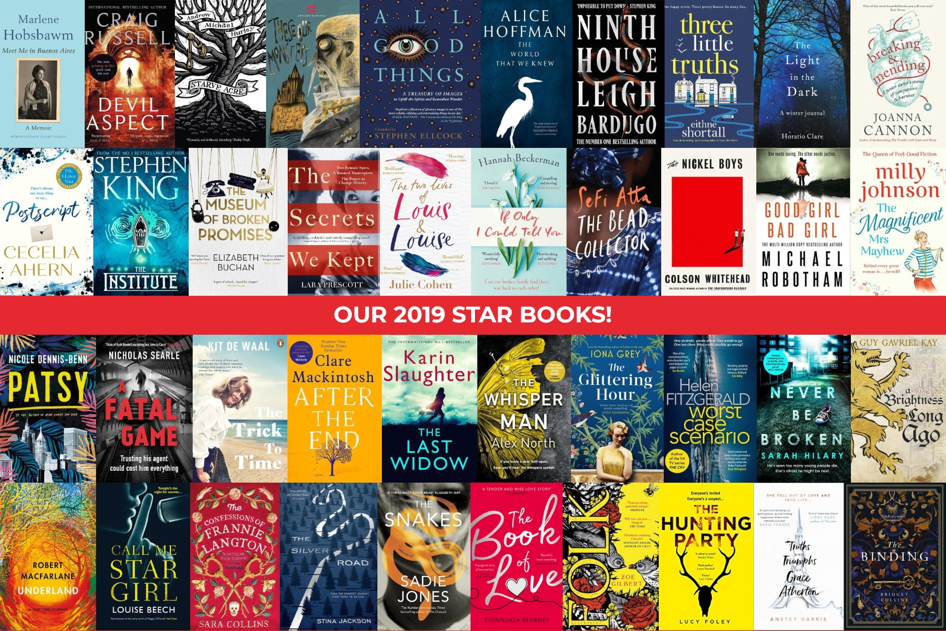 Win a Year of Reading with our Star Books MEGA GIVEAWAY 2019!
