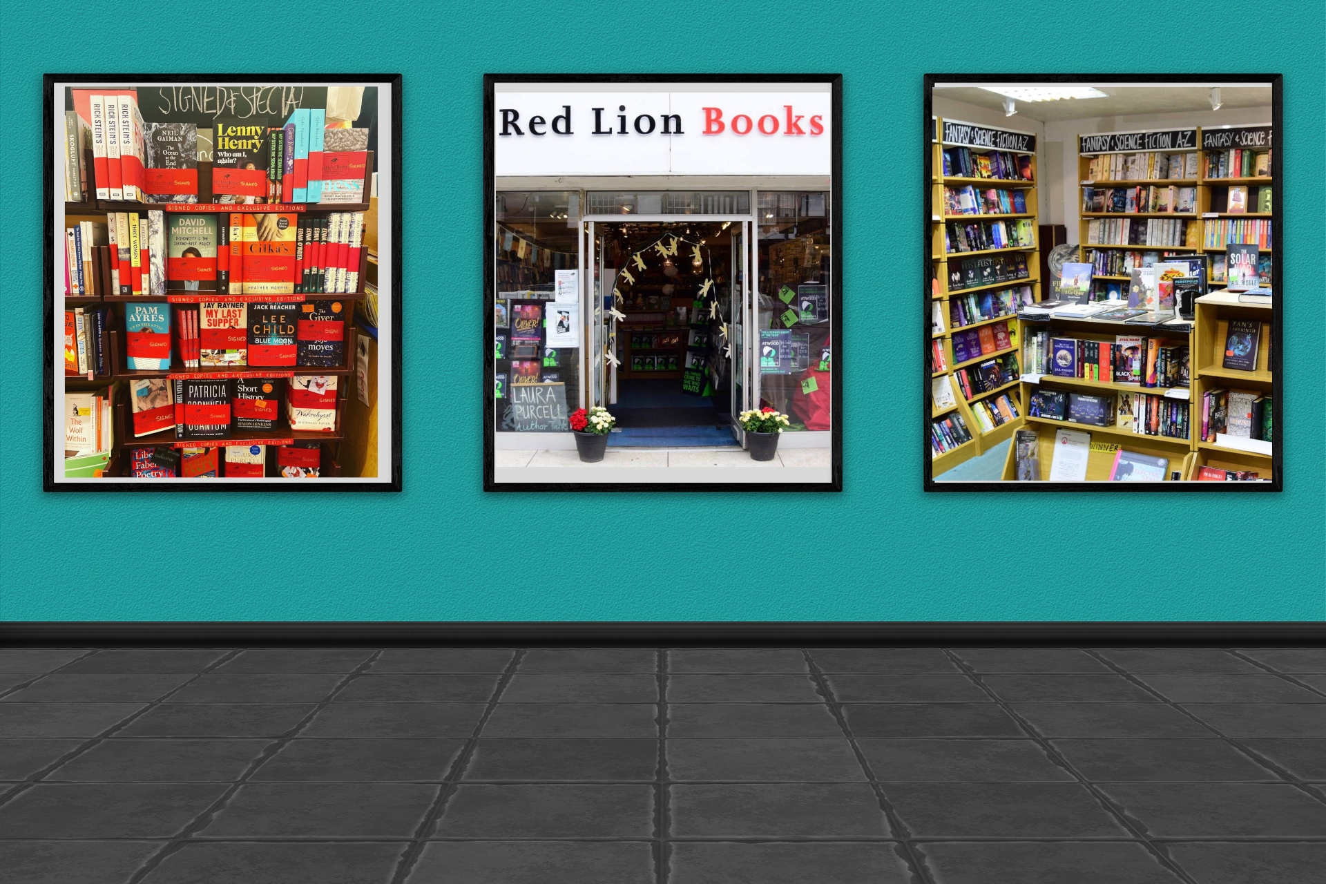 LoveReading Bookshop of the Month: Red Lion Books