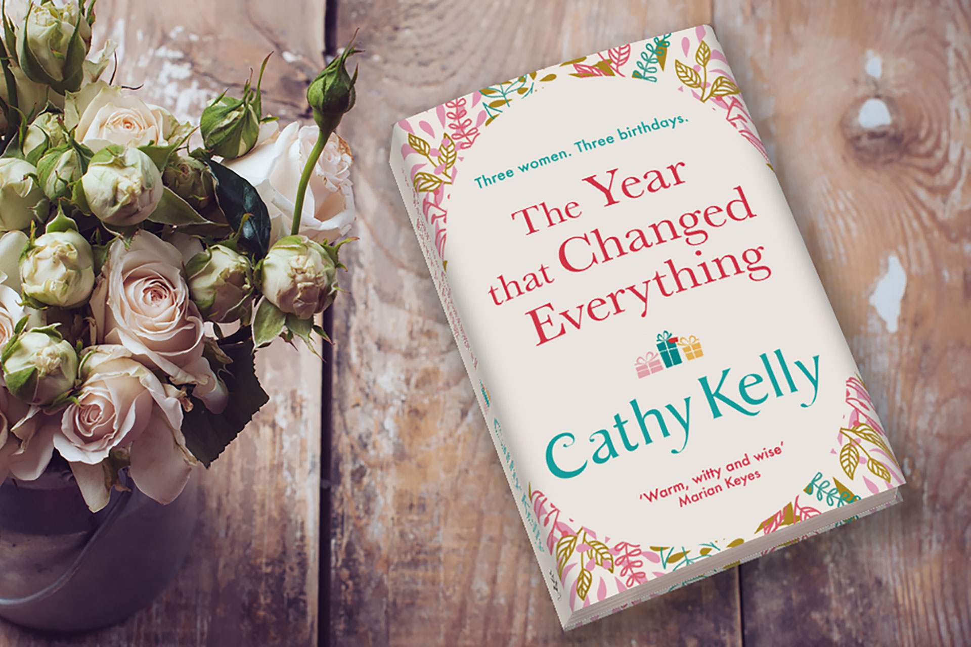 Cathy Kelly's The Year That Changed Everything Released Today!