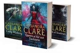 Win a set of the Dark Artifices Trilogy