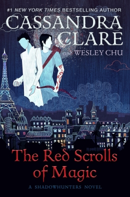 Win a HARDBACK copy of The Red Scrolls of Magic!