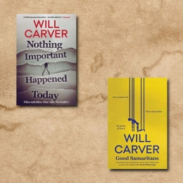 Signed set of Will Carver Books!
