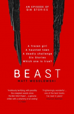 Win a full set of the Six Stories Series including Beast by Matt Wesolowski!