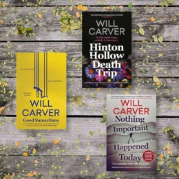 Win a Signed Will Carver Book Bundle!