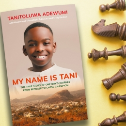 Celebrate the Release of My Name Is Tani with a Copy of the Book and a Deluxe Chess Set!