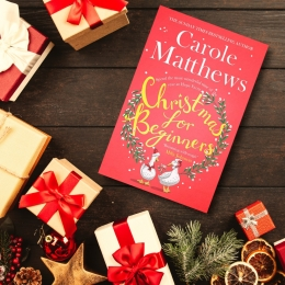 Win a Winter Treat with Carole Matthews' Christmas for Beginners!