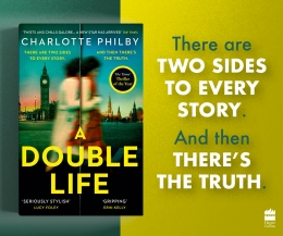 Win a copy of A Double Life plus £50 of Waterstones vouchers!