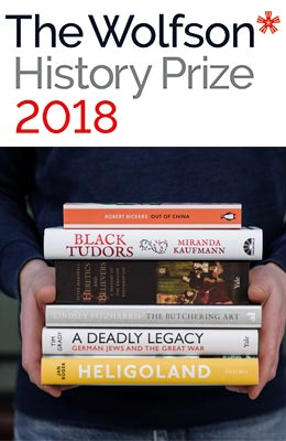 Win 1 set of all 6 Wolfson Shortlisted Books