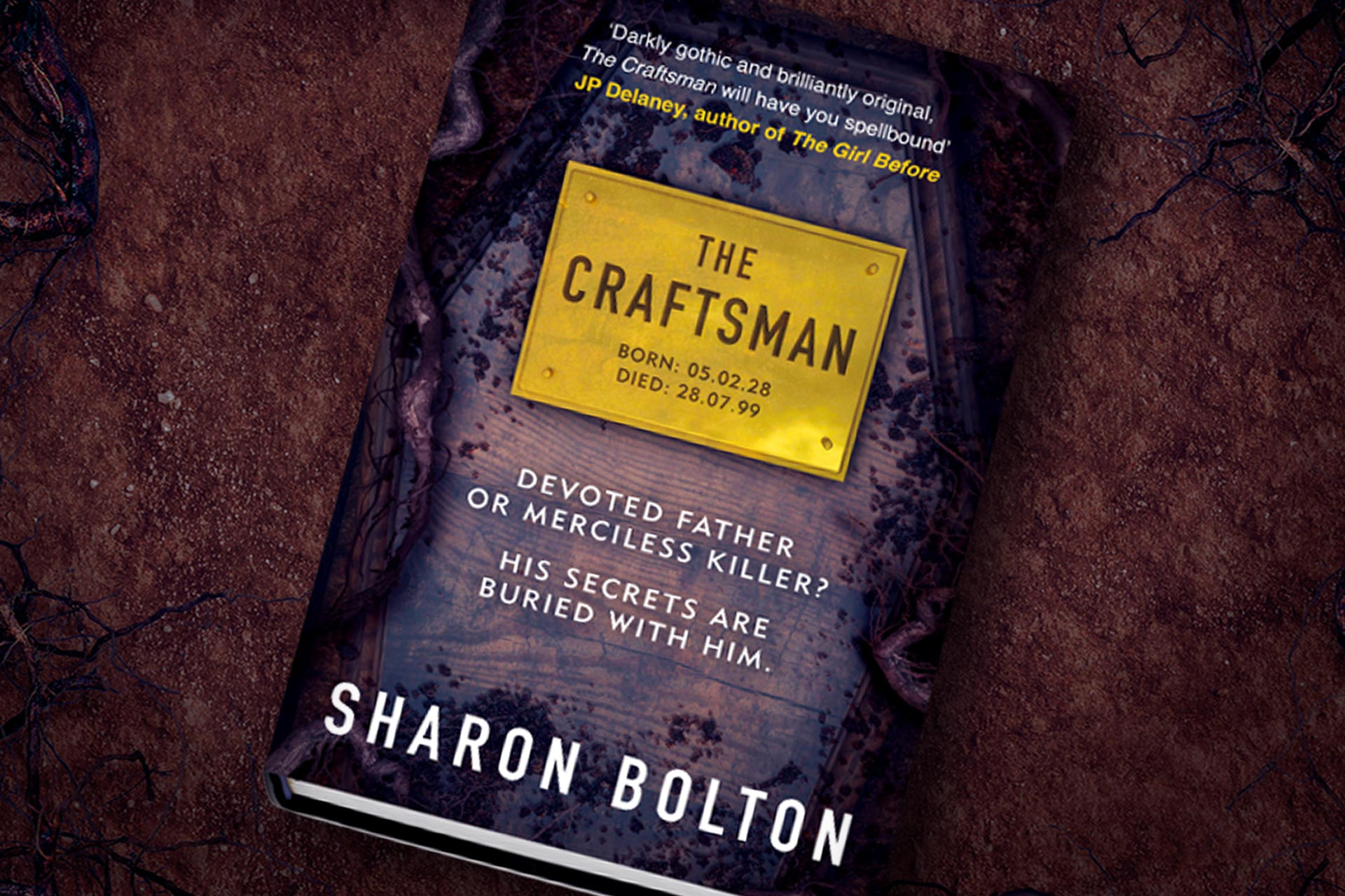 Q&A With The Craftsman Author Sharon Bolton