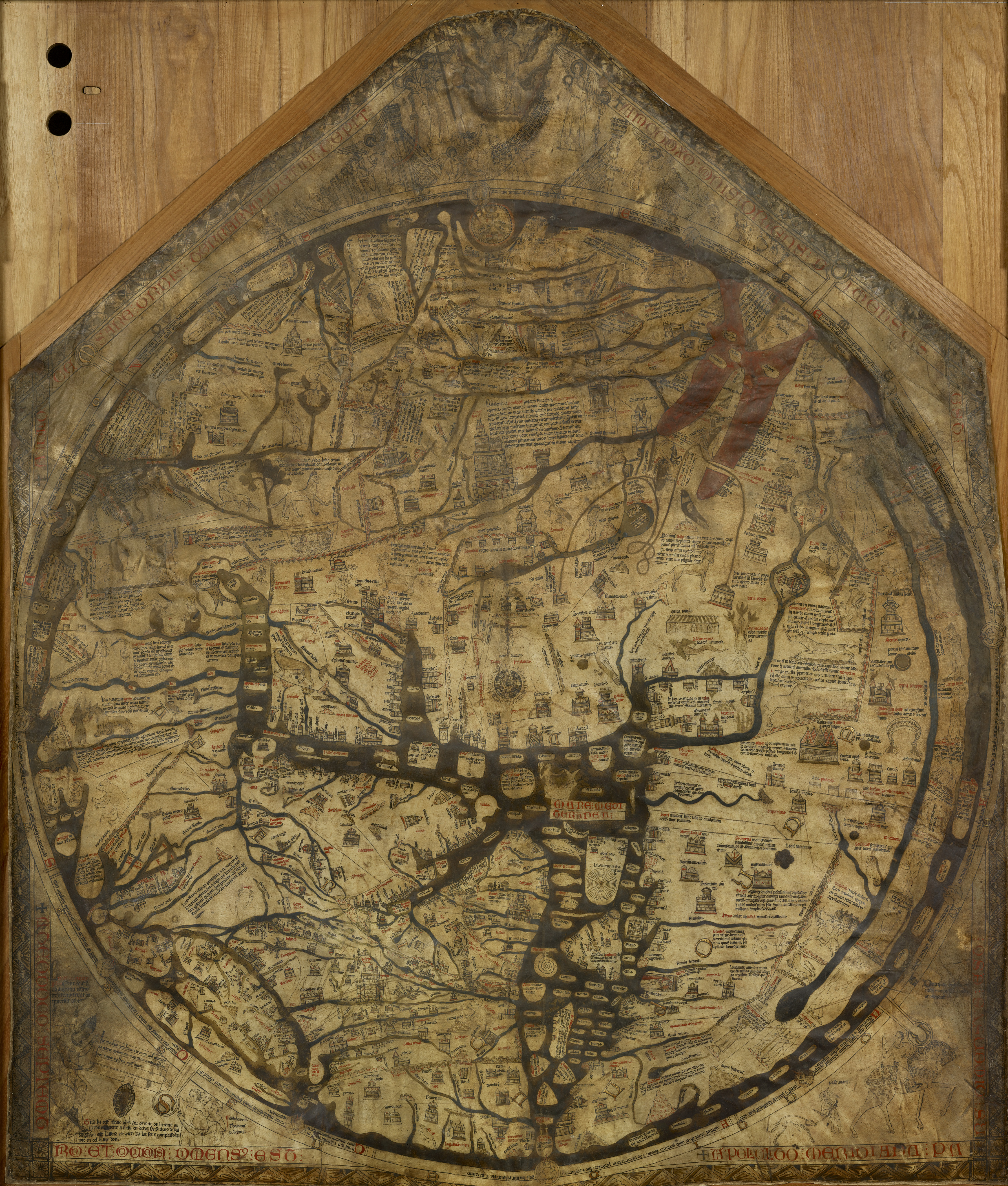 Hereford Mappa Mundi Whole
