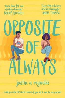 Opposite of Always YA Fiction Book Cover