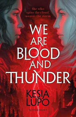 We Are Blood and Thunder YA Fiction Book Cover