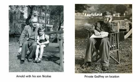 phots of Armold Ridley Private Godfrey