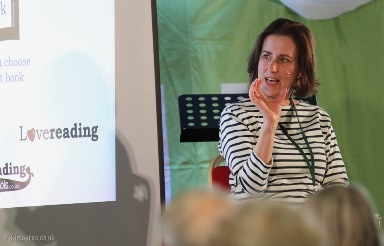 Kirsty Wark at Boswell Festival by Kim Ayres