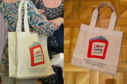 lovereading canvas bags