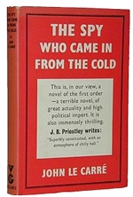 original book jacket of The Spy Who Came in from the Cold published by Victor Gollancz & Pan
