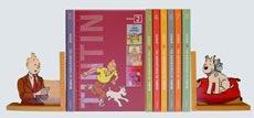 Tintin books logo